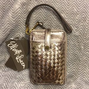 NWT Elliot Luca Wristlet W/Phone Holder
